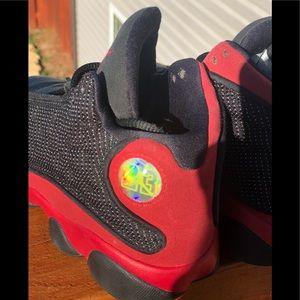 "Nike Air Jordan 13 ""Bred"" Retro Size 1Y (414571"